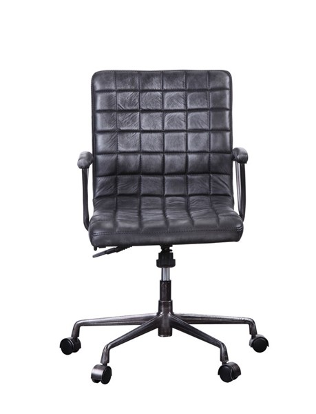 Acme Furniture Barack Vintage Black Office Chair ACM-92557