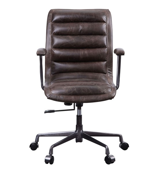 Acme Furniture Zooey Distress Chocolate Office Chair ACM-92558