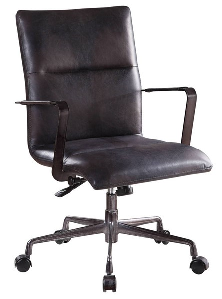 Acme Furniture Indra Onyx Black Executive Office Chair ACM-92569