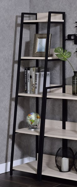 Acme Furniture Wendral Natural 16 Inch 5 Tier Bookshelf ACM-92673