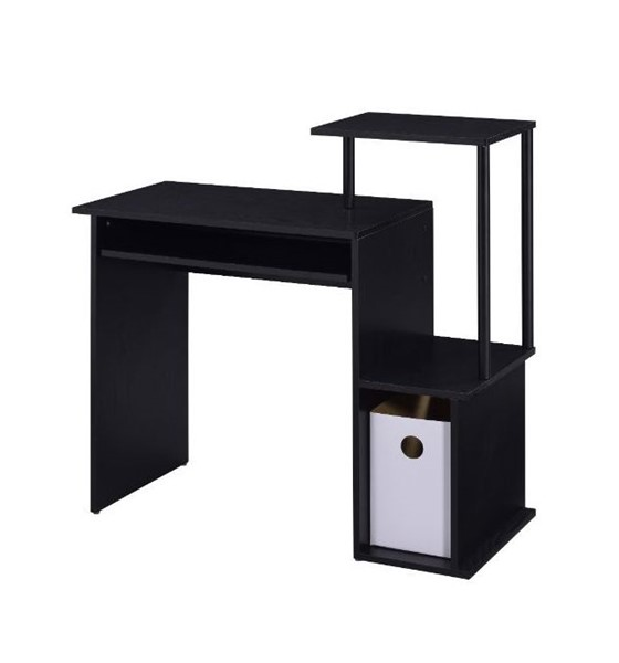 Acme Furniture Lyphre Black Computer Desk ACM-92764
