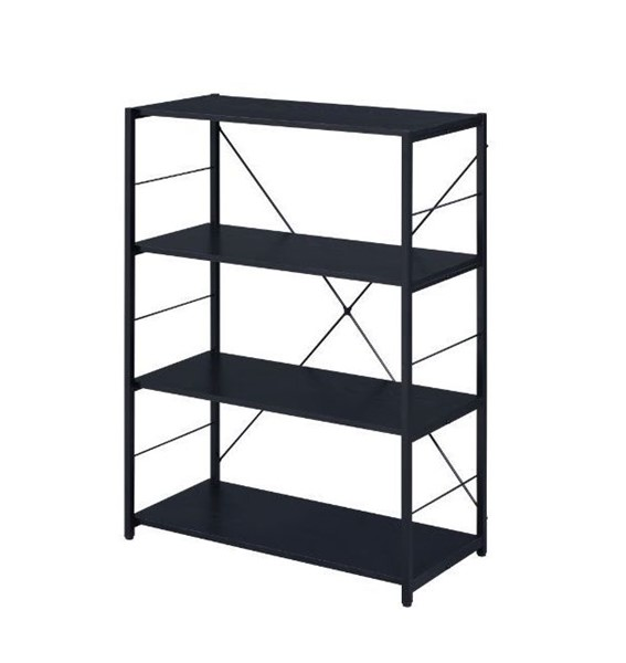 Acme Furniture Tesadea Black 4 Shelves Bookshelf ACM-92775