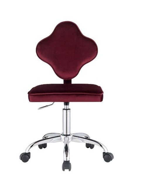 Acme Furniture Clover Red Office Chair ACM-93070