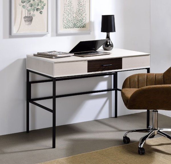 Acme Furniture Verster Natural Built In USB Port Writing Desk ACM-93090