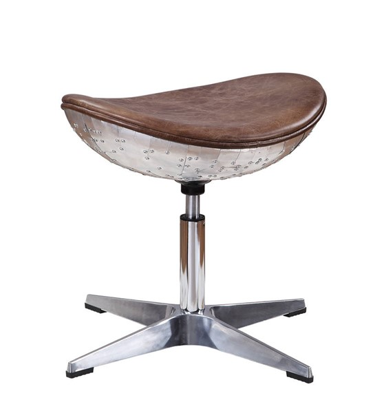 Acme Furniture Brancaster Retro Brown Stool ACM-96160