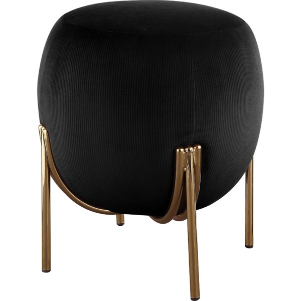 Acme Furniture Spraxis Black Ottoman ACM-96447