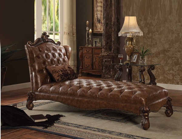 Acme Furniture Versailles Chaise with Pillow ACM-96544