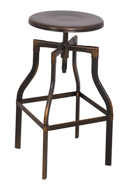 Acme Furniture Xena Antique Copper Swivel Adjustable Stool ACM-96638