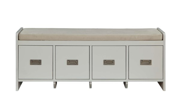 Acme Furniture Berci White Storage Bench ACM-96775
