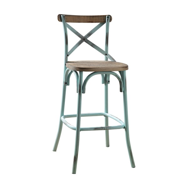 Acme Furniture Zaire Antique Sky Bar Chair ACM-96806