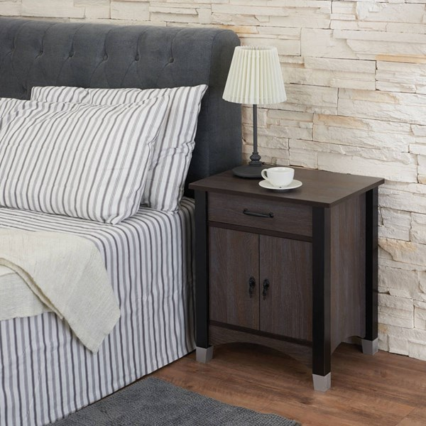 Acme Furniture Calp Gray Oak Nightstand ACM-97260