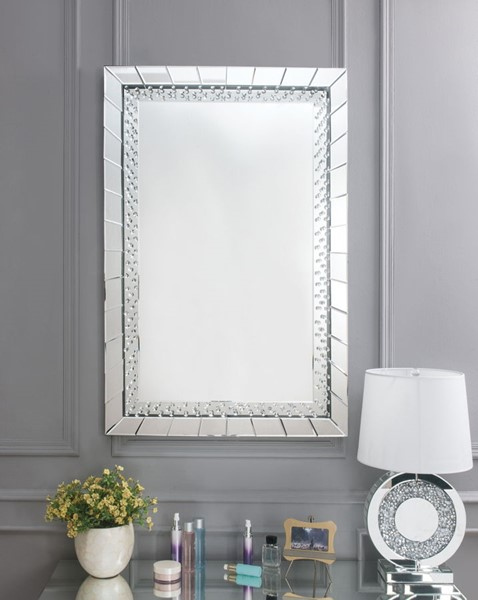 Acme Furniture Nysa Rectangle Accent Wall Mirror ACM-97386