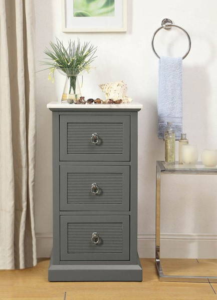 Acme Furniture Swart Grey Accent Cabinet ACM-97541