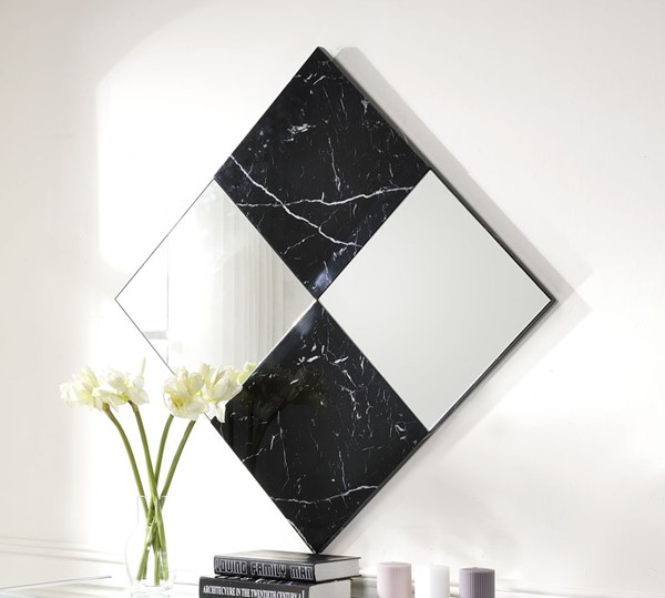 Acme Furniture Angwin Mirrored Wall Accent Mirror ACM-97565