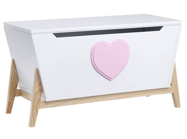 Acme Furniture Padma White Pink Youth Chest ACM-97632
