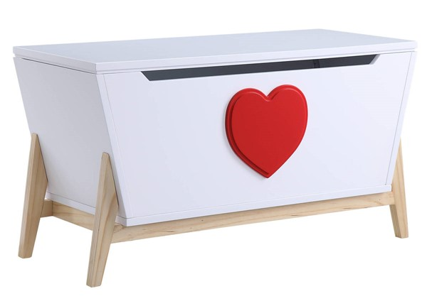 Acme Furniture Padma White Red Youth Chest ACM-97633