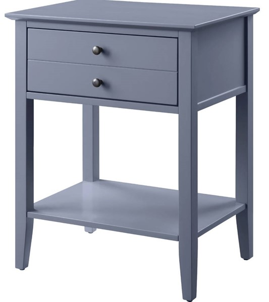 Acme Furniture Grardor Gray Side Table ACM-97743