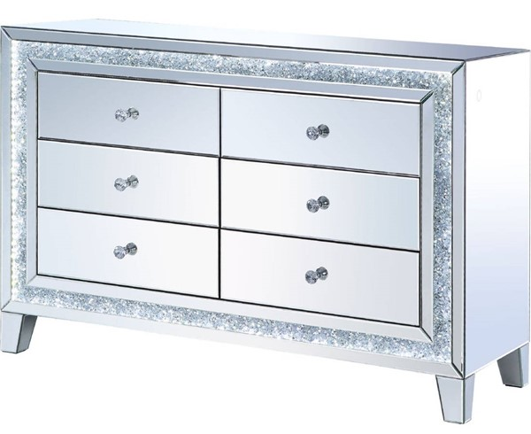 Acme Furniture Noralie Clear Console Table ACM-97815