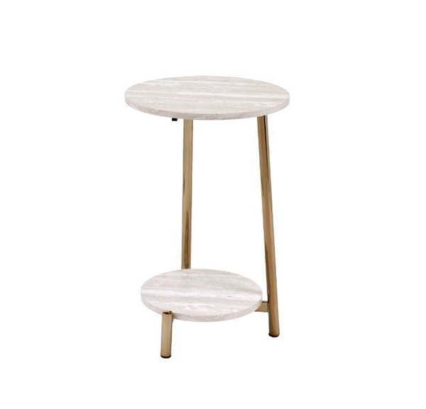Acme Furniture Snare Natural Side Table ACM-97875