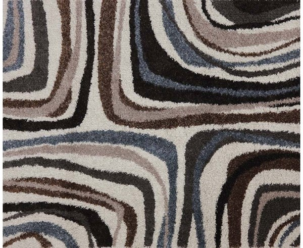 Huxley Hand Painted Biscuit Rectangle Large Rug ACM-99057