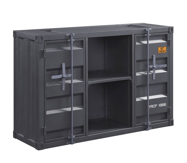 Acme Furniture Cargo Gunmetal Server ACM-77910