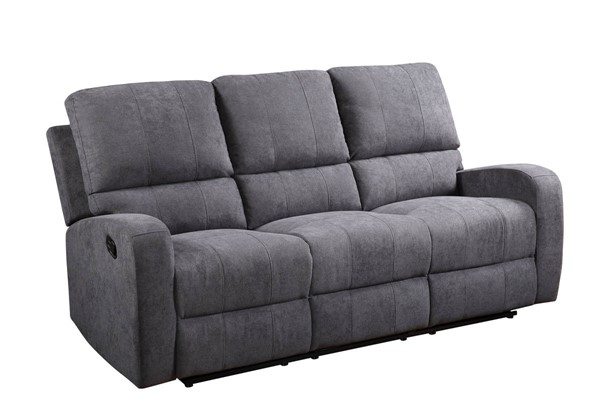 Acme Furniture Livino Gray Fabric Sofa ACM-55835