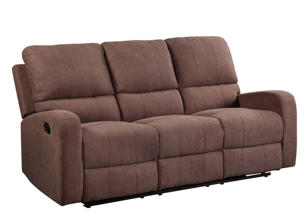 Acme Furniture Livino Brown Fabric Sofas ACM-5583-SF-VAR