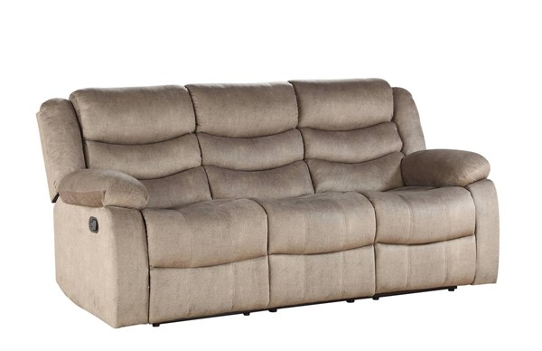 Acme Furniture Angelina Light Brown Fabric Sofa ACM-55040