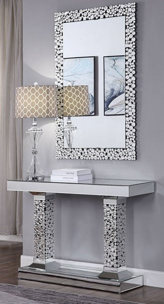 Acme Furniture Kachina Console Table and Mirror ACM-90446-97574-S1