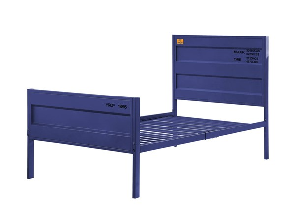 Acme Furniture Cargo Blue Metal Twin Bed ACM-35930T