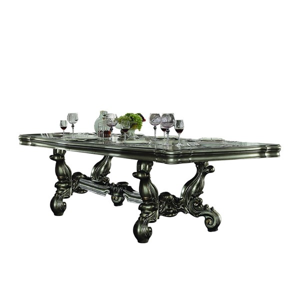 Acme Furniture Versailles Antique Wood Rectangle Dining Table ACM-66830