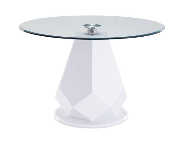 Acme Furniture Chara White High Gloss Dining Table ACM-74925
