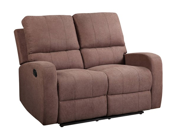 Acme Furniture Livino Brown Fabric Loveseats ACM-5583-LS-VAR