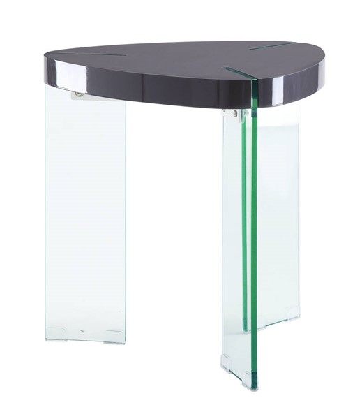 Acme Furniture Noland Gray Clear End Table ACM-84917
