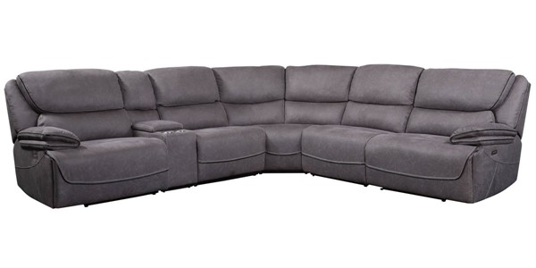 Acme Furniture Neelix Seal Gray Power Sectional Sofa ACM-55120