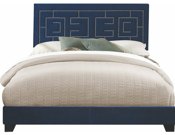 Acme Furniture Ishiko III Dark Blue Queen Bed ACM-21640Q