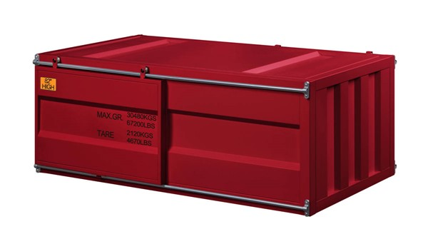 Acme Furniture Cargo Red Coffee Table ACM-87895