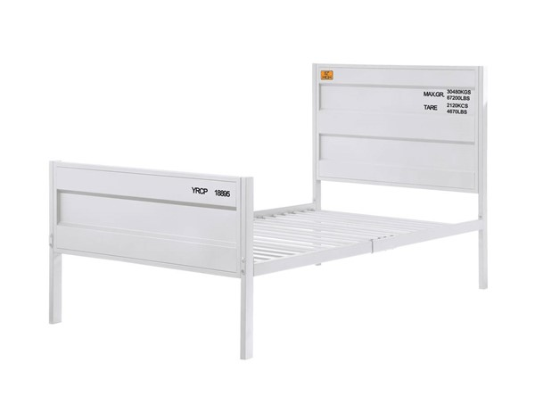 Acme Furniture Cargo White Full Bed ACM-35905F
