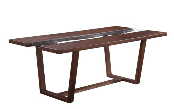 Acme Furniture Bernice Benoit Brown Dining Table ACM-72295