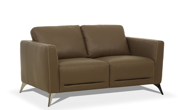 Acme Furniture Malaga Taupe Leather Loveseat ACM-55001