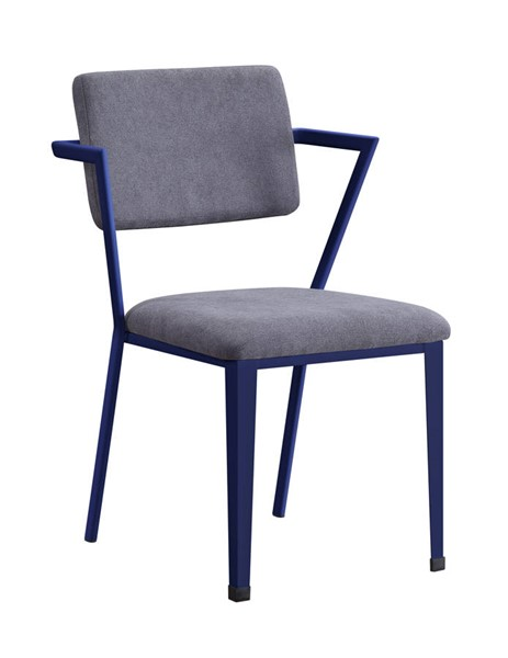 Acme Furniture Cargo Gray Blue Chair ACM-37908