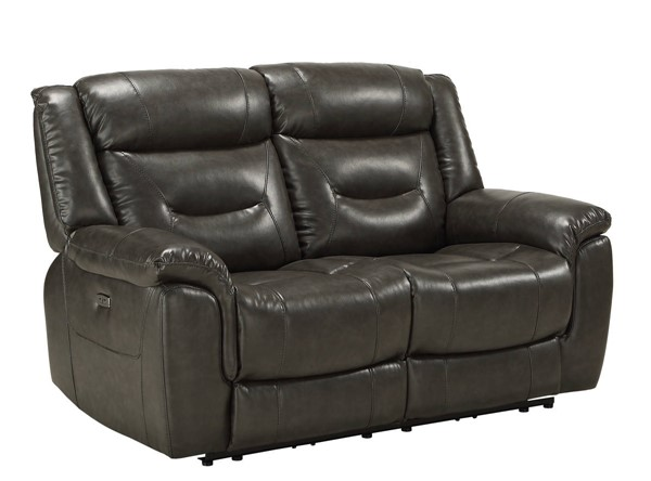 Acme Furniture Imogen Gray Power Loveseat ACM-54806