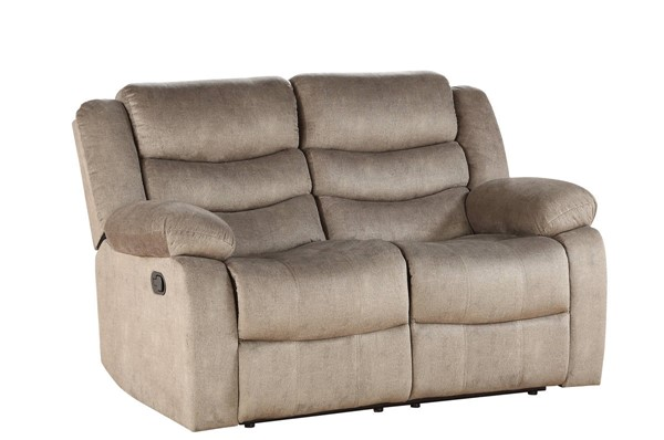 Acme Furniture Angelina Light Brown Fabric Loveseat ACM-55041