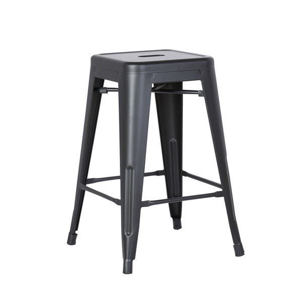 2 AC Pacific ACBS01 Costal Metal 24 Inch Bar Stools ACP-ACBS01-24-BS-VAR