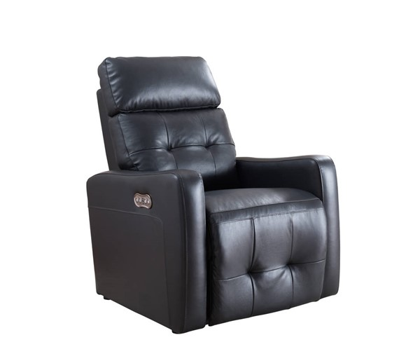 AC Pacific Anna Black Recliner Adjustable Headrest Power Chair ACP-ANNA-BLACK-PRC