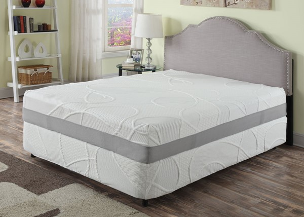 AC Pacific Herbacoal 12 Inch Full Green Tea Memory Foam Mattress ACP-HERBACOAL-12-FM