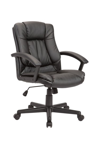 AC Pacific OC-06 Black Adjustable Swivel Office Chair ACP-OC-06