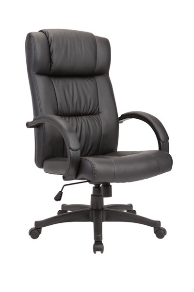 AC Pacific OC-08 Black Adjustable Swivel Office Chair ACP-OC-08