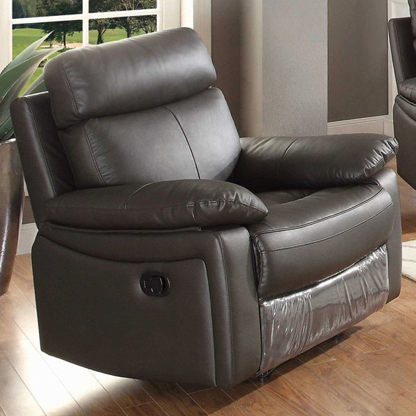 AC Pacific Ryker Dark Brown Reclining Arm Chair ACP-RYKER-BRN-GRC
