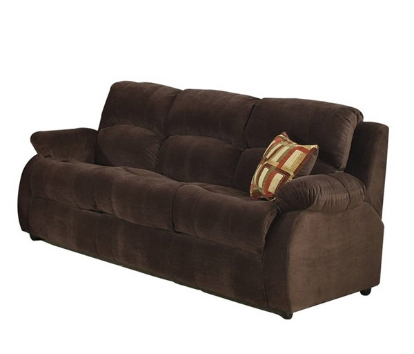 AC Pacific Tracey Chocolate Queen Sofa Bed ACP-TRACEY-HXTY53-10-SB